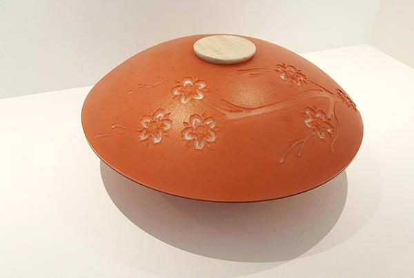 Cherry Blossom Urn