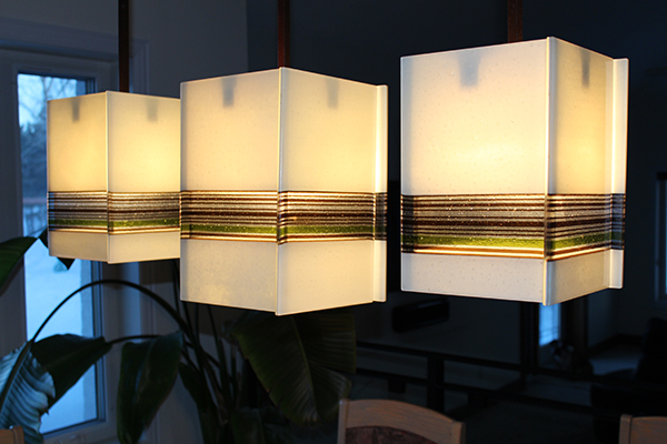 Cube Pendant Lights