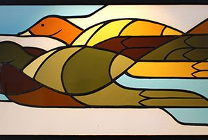 Stained Glass Ducks