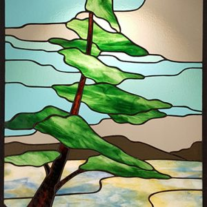 Lone Pine Stained Glass
